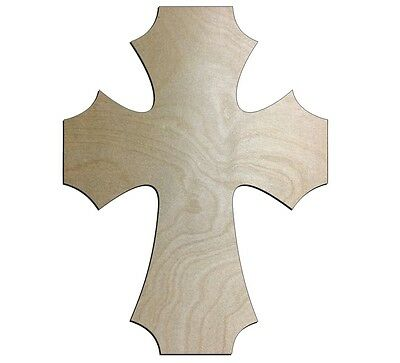 UNFINISHED WOOD CROSSES Spikey STYLE 8/'/' x 11/'/' Quantity 10
