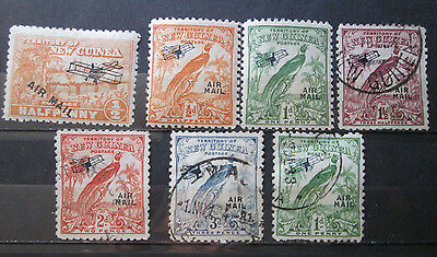 New Guinea Airpost Stamps Mint & Used Hr