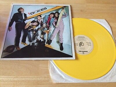 The Dickies - Incredible Shrinking LP Punk A&M 1979 UK Yellow Vinyl