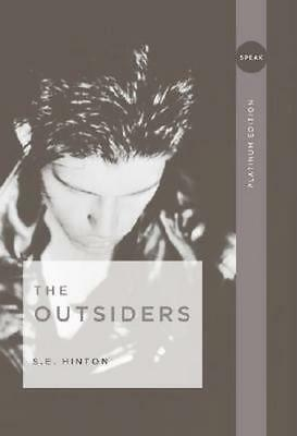 NEW The Outsiders By S. E. Hinton Paperback Free Shipping