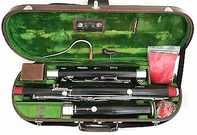 Historical Heckel Biebrich Bassoon owned by Erich Wolschke - completely restored