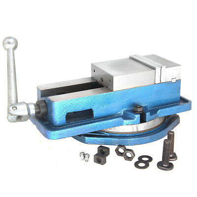"HFS 6"" Milling Machine Lockdown Vise -Swiveling Base"