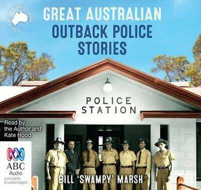 NEW Great Australian Outback Police Stories By Kate Hood Audio CD Free Shipping