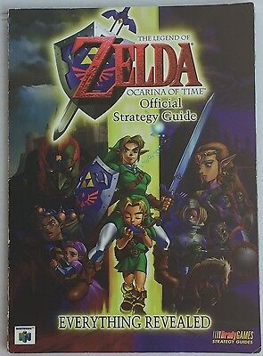 The Legend of Zelda Ocarina Of Time Official Strategy Guide from Brady Games N64