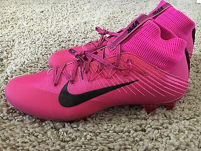 Nike Vapor Untouchable 2 Flyweave Football Cleat Mens Size 13 Pink  884808-606