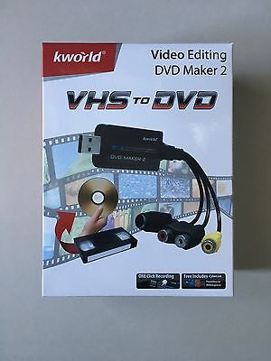 Vhs To Dvd Converter Maker (kmworld)