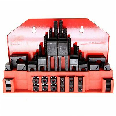 "HFS 58Pc 5/8"" Slot 1/2""-13 Stud Hold Down Clamp Clamping Set Bridgeport Mill"