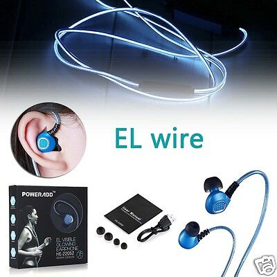 Wired Stereo Headphone Sport Headset Earphone Earbuds For Samsung iPhone LG