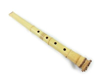 Five pier Shakuhachi Inui Miyako flow Taro inscription 1 scale 5 dimensions a...