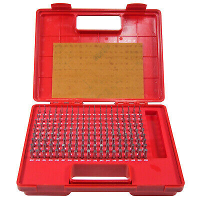 "HFS Steel Pin Gauge Set - 190pcs M1 .061-.250"" - Class ZZ"