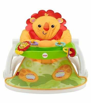Baby Play Seat w/ Tray Activity Center Sit Me Up Portable Travel Infant Chair