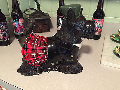 Westland Giftware SCOTTISH TERRIER COOKIE JAR 11178 Scottie Dog Kilt