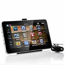 "4.3"" Monitor with GPS Navigation, Wireless Reversing Camera & Bluetooth"