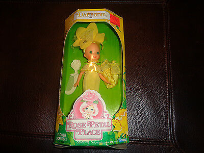 New and Sealed Vintage 1984 Rose Petal Place Daffodil Doll Box