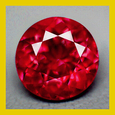 1.50ct. NATURAL TOP PIGEON RED RUBY ROUND AFRICAN LOOSE GEMSTONE