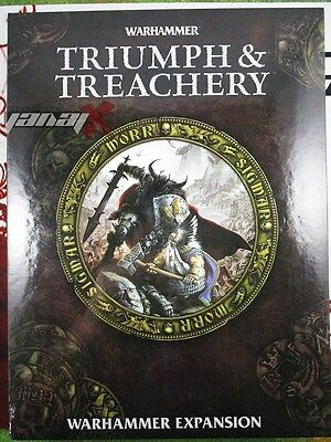 Triumph & Treachery [x1] Books [Warhammer] Very Good