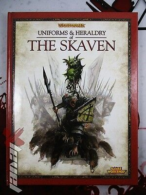 Uniforms and Heraldry of The Skaven [x1] Books [Warhammer] Good