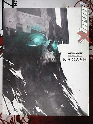Nagash [Hard Cover] The End Times [x1] Books [Warhammer] Good