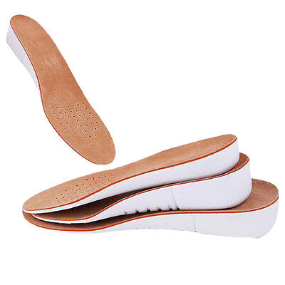 Arch Support Shoe Insoles Pads Heel insert Increase Taller Height Insoles New