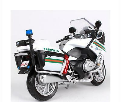 MAISTO 1:18 R1200RT Portugal R 1200 RT Police MOTORCYCLE BIKE DIECAST MODEL