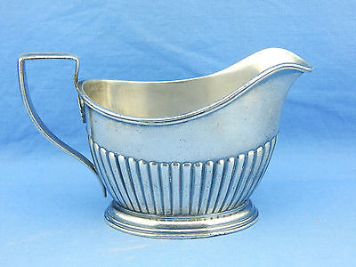 antique GRAND PACIFIC HOTEL CHICAGO silverplate by GORHAM creamer 07306