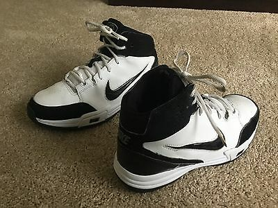 Nike Kid's Athletic Basketball Shoes Boy's Size 6.5Y Multi-Color Leather