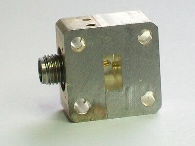 WR28 26.5-40 ghz microwave waveguide coaxial K connector adapter 2.92 mm female
