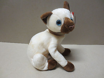 TY Beanie Babies Collection- Siam - With Hang & Tush tags