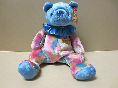 TY Beanie Babies Collection- Sapphire/ September- With Hang & Tush tags