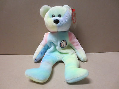 TY Beanie Babies Collection- B.B. Bear - With Hang & Tush tags