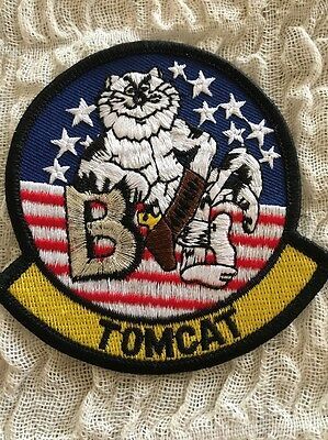 VF-103 JOLLY ROGERS TOMCAT PATCH Subtle Differences From Others Online Original