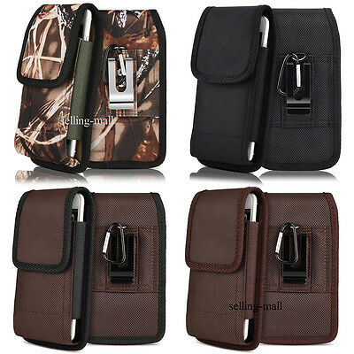 Outdoor Universal Carrying Large Cell Phone Belt Clip Case Bag Pouch Holster USA