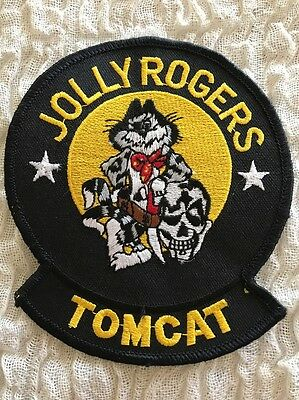 """VF-103 JOLLY ROGERS PATCH Subtle Differences From Others Online 4.5"""" Size"""