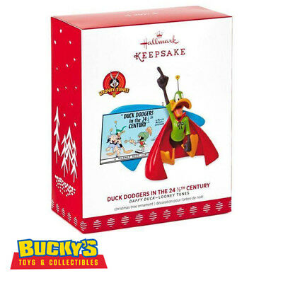 Duck Dodgers in the 24½th Century 2017 Hallmark Looney Tunes Ornament In Stock