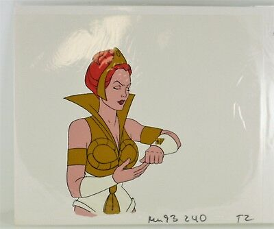 He-Man Masters of the Universe Original Animation filmation Cel TEELA T-2