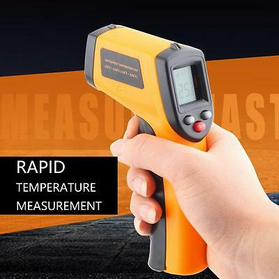 LCD Digital Non-Contact IR Infrared Thermometer Handheld Laser Temperature Gun g