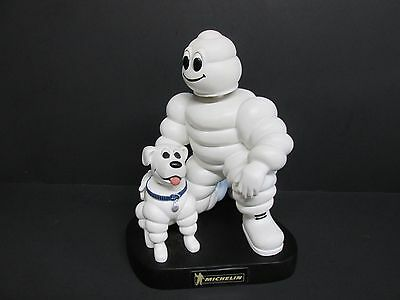 Michelin Man & Dog Advertising Bobble