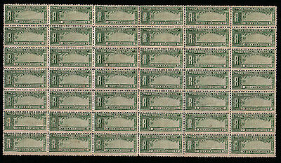 1904 Panama, REGISTRATION STAMPS MNH Part of Sheet 42 Stamps Don't MIss