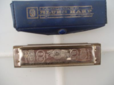 VINTAGE MARINE BAND HOHNER MOUTH ORGAN HARMONICA Bb