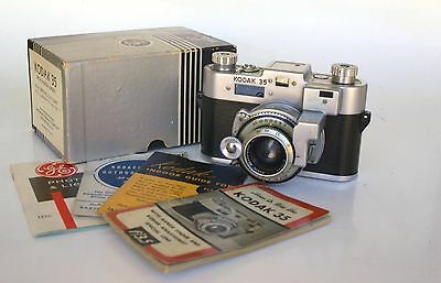 Kodak 35 with rangefinder and K.A. Special f3.5 Lens