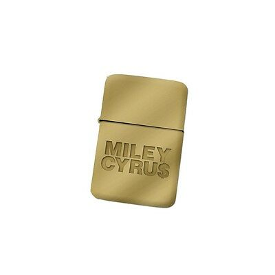 Miley Cyrus Gold Zippo Lighter