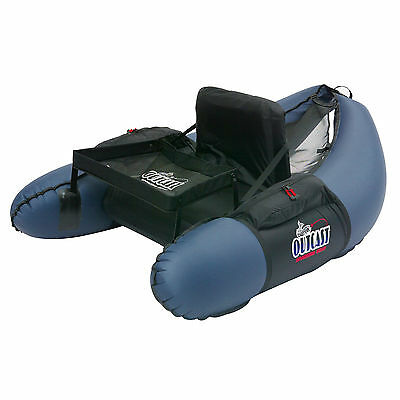 Outcast Trinity - Navy Inflatable Fly Fishing Float Tube U-boat