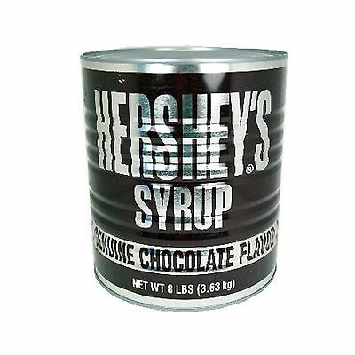Hershey's Chocolate Syrup 8-Pound Can