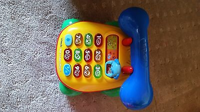 Vtech Pull and light up  Phone