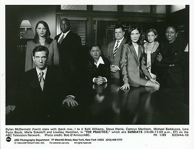 Dylan Mcdermott Lara Flynn Boyle Kelli Williams The Practice 1999 Abc Tv Photo