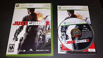JUST CAUSE 2 (USED Xbox 360 GAME/CASE/MANUAL)