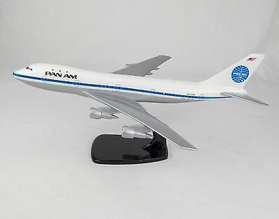 Vintage Pan Am 747 1:200 Scale Model (On Stand) Made By Air Jet Advance