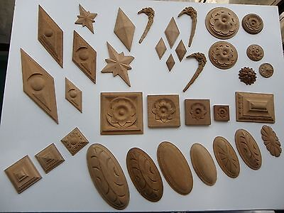 Vintage Decorative Timber Mouldings x 35 Items