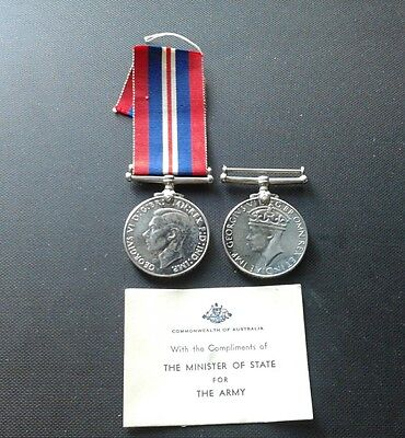 WW2 Australian service medal and defence medal 1939 & 1945