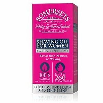 Somersets Shaving Oil for Women Extra Sensitive - 35ml